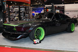 K&N SEMA Vehicle - Vaughn Gittin Jr.'s RTR Ford Mustang