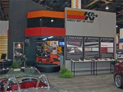 K&N SEMA Booth 2006