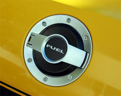 New Scott Drake Aluminum Fuel Cap Assembly was unveiled at SEMA and will be available to the public in 2010