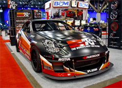 K&N Infiniti G35 showcase vehicle at SEMA 2009