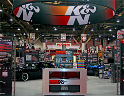K&N was selected as a 2009 Manufacturer of the Year by the Performance Warehouse Association at the SEMA Awards Banquet