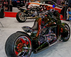 V REX is powered by a Harley Davidson V Rod Engine