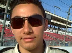 Sergio Pena prepares for NASCAR K&N Pro Series on May 23 at Iowa Speedway