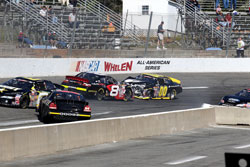 NASCAR K&N Pro Serie East Crash that changed everything