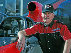 Sportsman Class Racer Sheldon Gecker, aka King Kong uses K&N air and oil filters
