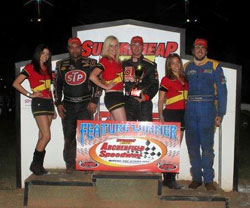 The two-time Knoxville 360 Nationals Champion kicked off his 2012 Australia tour with two wins and a third place.