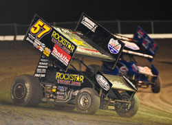 After the dust had settled Stewart managed to hold onto the points race by one point, earning him his second career Lucas Oil ASCS National Championship.