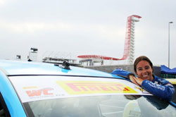 The Pirelli World Challenge with 20-plus cars going bumper-to-bumper brings a smile to Holbrook.