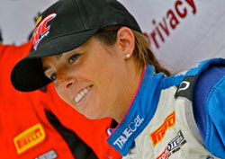 After earning two top-five finishes at Miller Motorsports Park, Shea Holbrook later traveled to Mosport where she took a position on the podium twice and won the