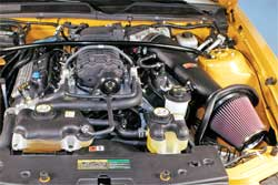 57-2571 Air Intake Installed on Ford Mustang Shelby