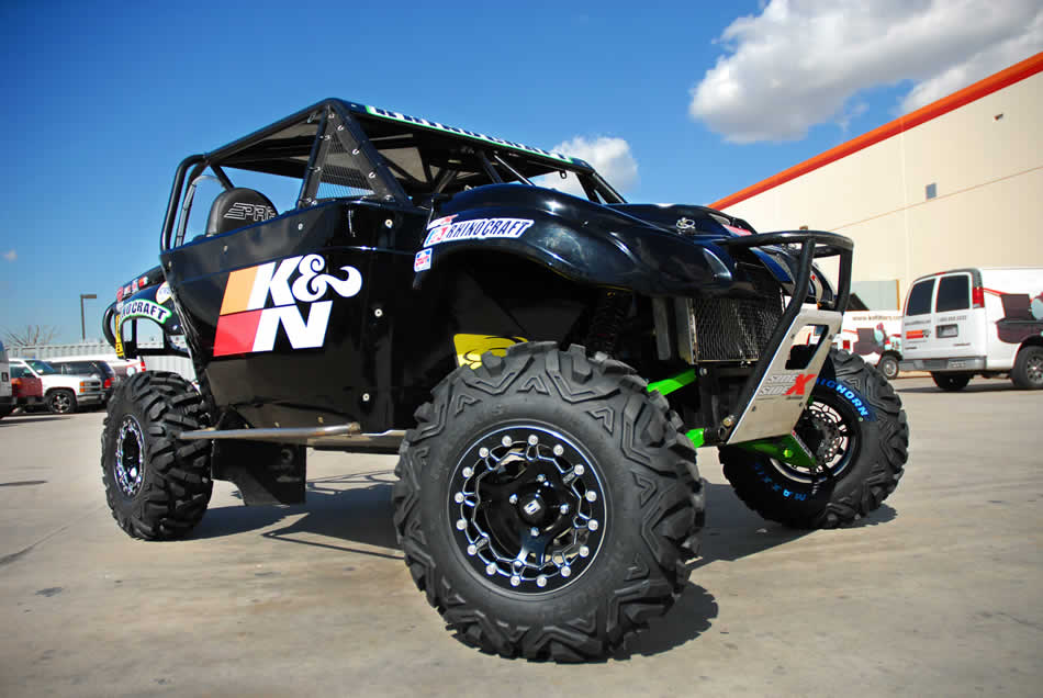 Yamaha Rhino ATV Owners Benefit from K&N's New Clutch Breather Filter