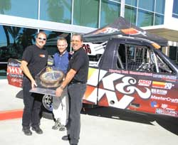 Presentation of K&N Filter used in 2006 Baja 1000