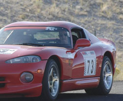 1997 Dodge Viper GTS went 165 mph during most of the run