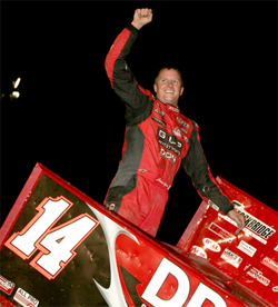 Jason Meyers performance at Skagit Speedway gave him a third place finish in the World of Outlaws race. His next event will be at Eldora Speedway in Rossburg, Ohio.