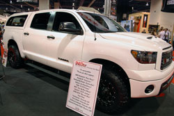 2011 Toyota Tundra at the SEMA Show