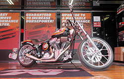 2006 custom K&N Softail IN K&N Truck & Trailer at the Black Hills Harley-Davidson dealership