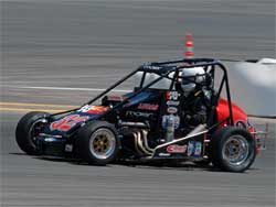 Ford Focus Midget at Irwindale, California