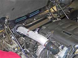 Air Intake Installed in Pontiac Solstice
