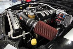 This custom 2006 Pontiac GTO has K&N air intake 63-3053