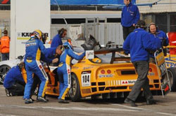The Viper lost some valuable time during a pit stop but the Speedtec still managed to pull out a fourth place finish.