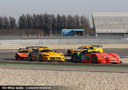 In the last race on Sunday Sijthoff only needed to cruise to a third place finish to lock up the championship over his closest rival a Corvette C5R.