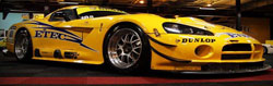 The ETEC-Viper driven by Robert de Graaff and Philippe Ribbens proved too fast for even the very speedy Ferrari 430 GT2.