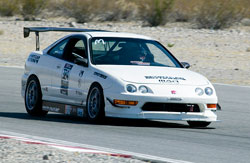 Award winning Honda Integra owned by Sportcar Motion in San Marcos, California