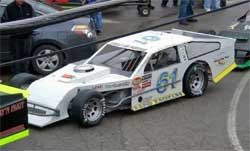 Brad Springer's No. 61 Rapid Racecar