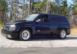 2006 Trailblazer SS is one of the fastest SUVs on the drag strip at Memphis Motorsports Park in Memphis, Tennessee