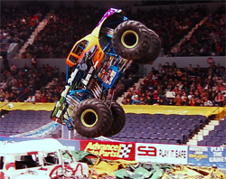 Black Stallion will fly higher in Monster Jam Competitions in 2009