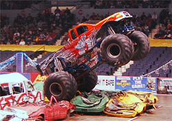 Monster Truck Competition will reach new heights and levels of destruction in 2009