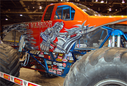 Iron Warrior's 2009 upgrades include a new 2008 Ford F-150 body and paint scheme