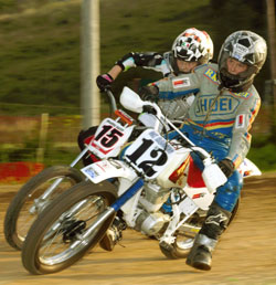 13 year old Allyx Camp started racing at the age of four