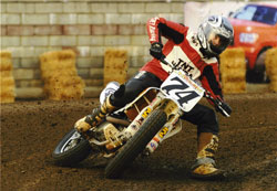 Adam Camp won the Vintage and 505cc District Championships