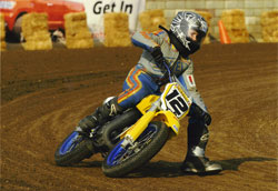 Adam Camp is getting his pro license this year and hopes to start the season opener in Daytona