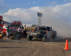 K&N Trophy Truck battled 23 other competitors in the blistering heat of the Nevada desert