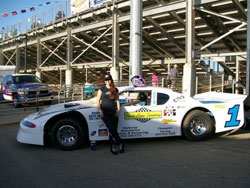 Herbage also drives the Pace Car for the USAC/CRA races at Perris Auto Speedway.