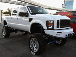 2011 SEMA featured Ford F350 Super Duty