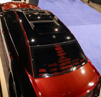 With the help of sponsors, this 2012 Chrysler 300 3.6 liter really came to lif at SEMA 2012