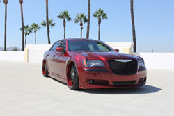 SEMA 2012 is the place to be when looking for top of the line show cars like this 2012 Chryaler 300