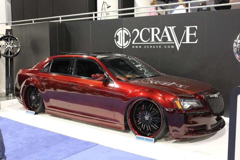 Steve Burkett S 2012 Sema Worthy Chrysler 300 Is A Good