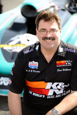 NHRA Super Gas Racer Steve Williams