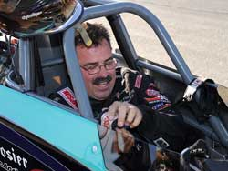 Steve Williams at the 27th annual NHRA Arizona Nationals