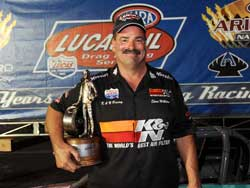 NHRA Super Comp National Event Victory for Steve Williams
