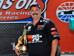 Steve Williams earns Wally at the NHRA Sonoma Nationals