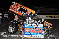 Cody Gerhardt wins King of the Wing feature race in Stockton