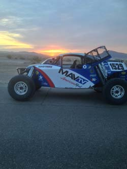 For the 2014 season the Stronghold Motorsports team will be campaigning in the red, white and blue colors of the MAVTV American Real network.