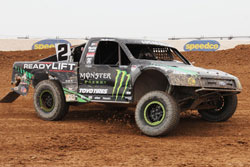Stronghold Motorsports' Jeremy McGrath in Pro 2 truck