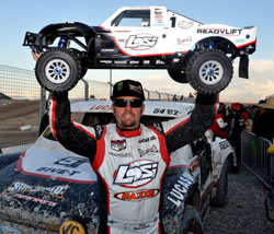 Rob Naughton proves that LOORRS racers are indeed ironmen.