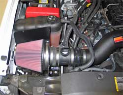 2007 Chevrolet Suburban 2500 with K&N air intake 57-3063 installed